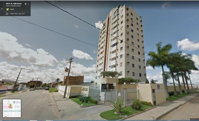 Alugo Apartamento 70 mt² 2/4 prox Av Maria Quitéria garagem coberta tx cond incluída