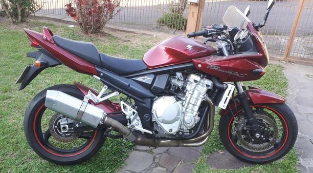 Moto suzuki bandit S 1250 cc gasolina (A melhor) - Foto 4