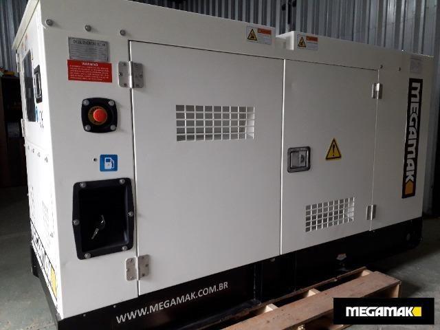 Gerador de Energia 33kva Silenciado Automático - Pronta Entrega