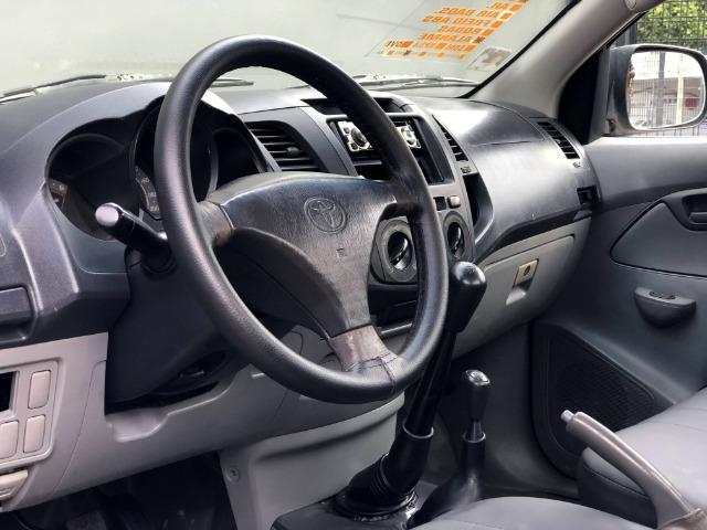 Toyota Hilux CS 2.5 turbo 4x4 Diesel -carroceria de madeira (valor para venda) - Foto 10