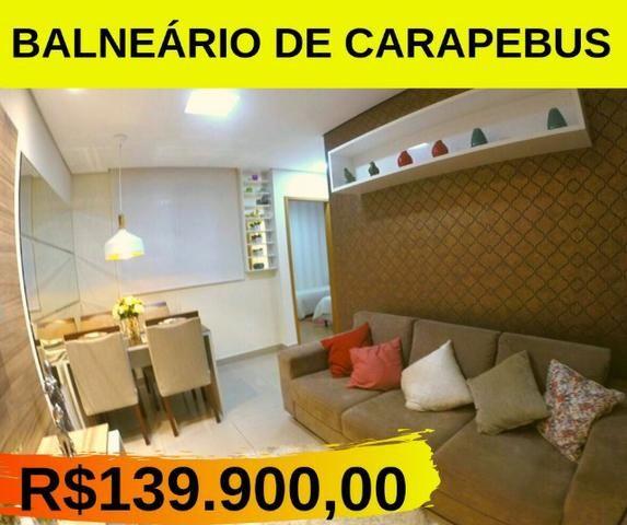 MR- Pronto pra Morar em Carapebus, Apartamentos 2Q e 2Q com Suíte