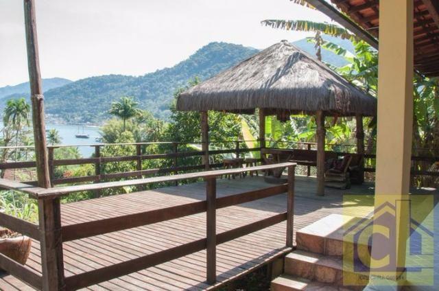 CL 01- Casa na Ilha de Itacuruçá Mangaratiba-RJ com fantástica vista para o mar - Foto 3