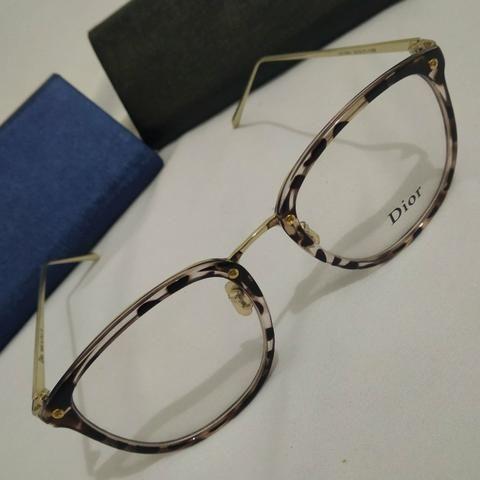 5dc063590 Dior - Armação Gatinha Para Óculos de Grau #2312 - Bijouterias ...
