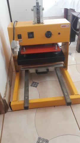 84bbb3954 Máquina de estampar da Compacta Print - Equipamentos e mobiliário ...