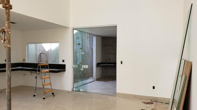 Casa Nova 3suites churrasqueira rua 5 Vicente Pires condomínio fechado - Foto 12