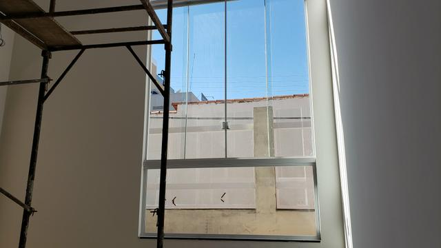 Casa Nova 3suites churrasqueira rua 5 Vicente Pires condomínio fechado - Foto 8