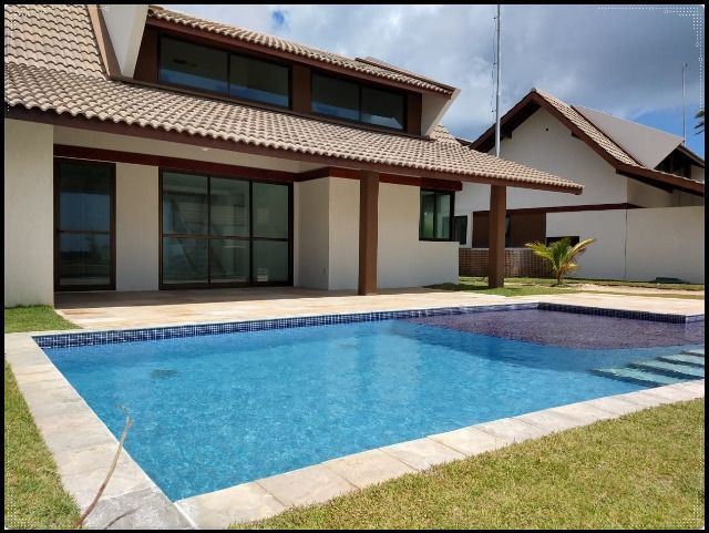 GN- Casa duplex na praia do Cupe, 4 quartos, piscina privativa, varanda gourmet - Foto 16