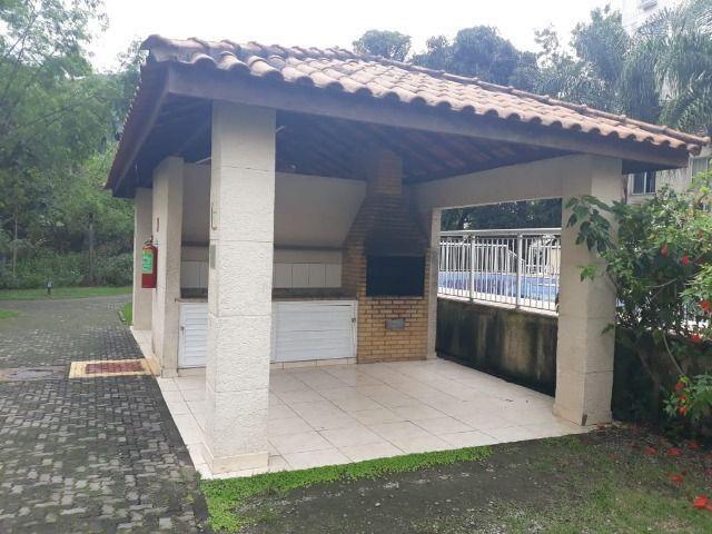 Vargem Pequena, alugo apartamento 3 quartos térreo Condomínio Reserva da Praia - Foto 2