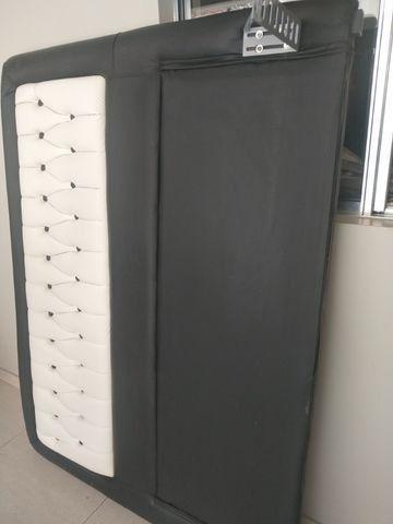Cabeceira para cama box ( Tipo 1,58 x 1,98 m - Queen Size ) - Foto 4