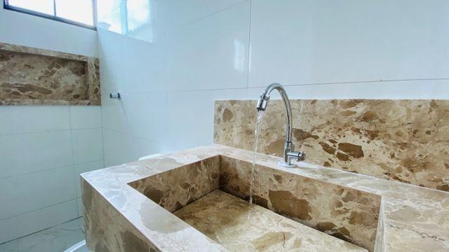 Casa Nova, Linda, Acabamento Impecável - 03Qtos, Quintal + Ampla Área Gourmet!! - Foto 10