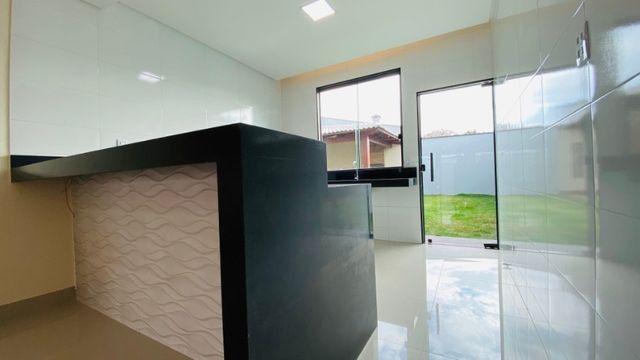 Casa Nova, Linda, Acabamento Impecável - 03Qtos, Quintal + Ampla Área Gourmet!! - Foto 6