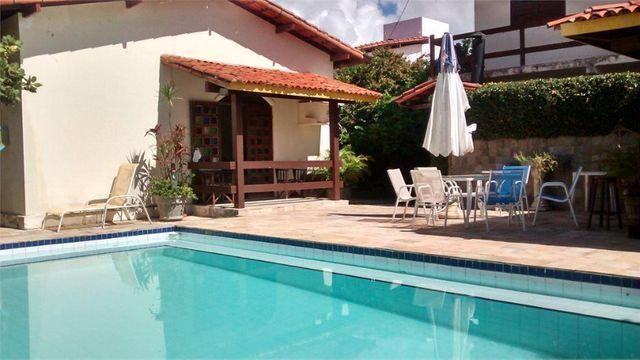 Casa De 640 m² 6/4 Com 2 Suites,2 Salas,5 Banheiros,Piscina No Cond.Vale Do Jaguaribe - Foto 3