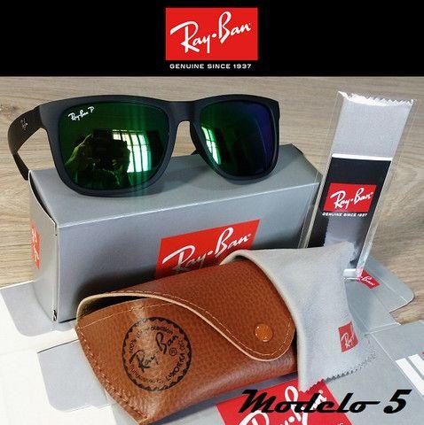 Óculos RayBan Justin 4165 100% Polarizado - Foto 5