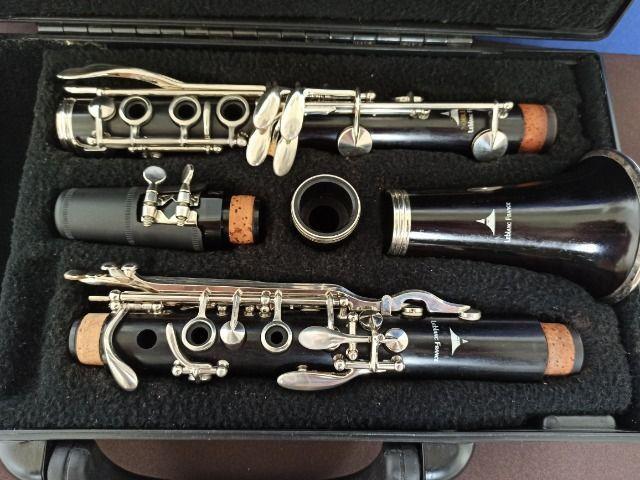 Clarinete Excepcional Leblanc France - Sup. Yamaha 450, Buffet E11 - Foto 6