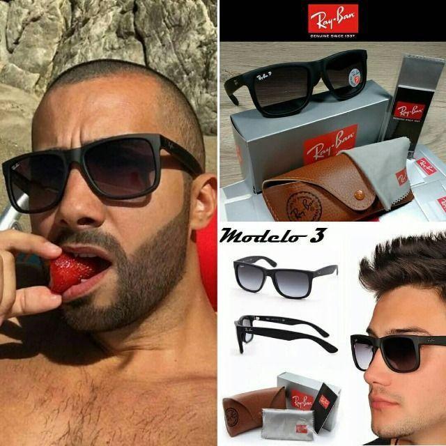 Óculos RayBan Justin 4165 100% Polarizado - Foto 3