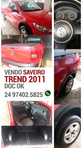 Vendo Saveiro Trend 2011 - doc Ok - Foto 4