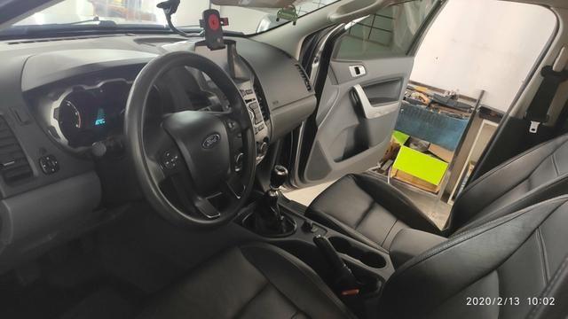 Vendo ranger Diesel XLT 3.2 CD manual 100% original segundo dono! - Foto 8