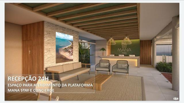 Mana Beach Experience lançamento 1 e 2 quartos na Praia de Muro Alto na frente do Oka - Foto 16