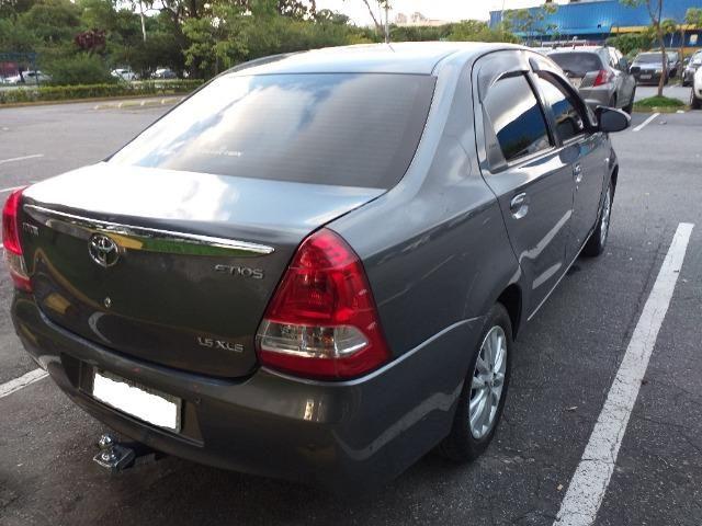 Etios Sedan XLS 1.5 16V 2014 Mec. Completo com GNV - Foto 5