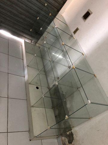 Balcão de vidro para estabelecimento - Foto 3