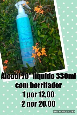 Álcool 70 Sanitizante de mãos e ambientes - Foto 2