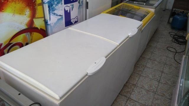 Frerzer gelopar 510 litros