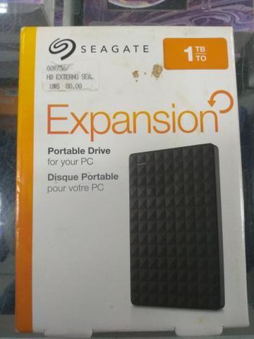 HD 1TB Externo Portátil Seagate Expansion USB 3.0