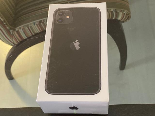 IPhone 11 Preto 64gb, NF + Garantia 1 ano, Anatel, Lacrado, Zero, A2221, Novo - Foto 2