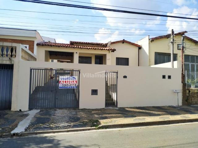 Casa para alugar com 2 dormitórios em Vila industrial, Campinas cod:CA007994