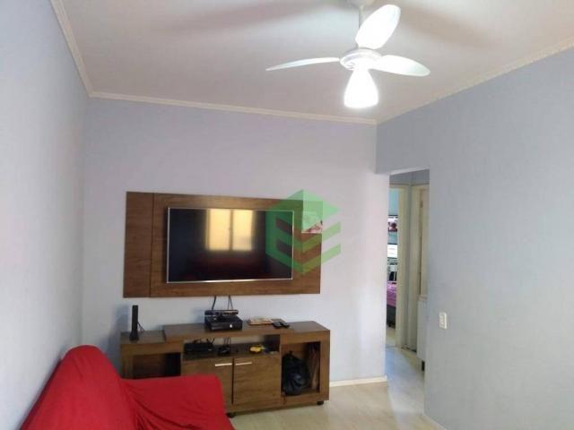 Apartamento com 2 dormitórios à venda, 56 m² por R$ 212.000,00 - Assunção - São Bernardo d