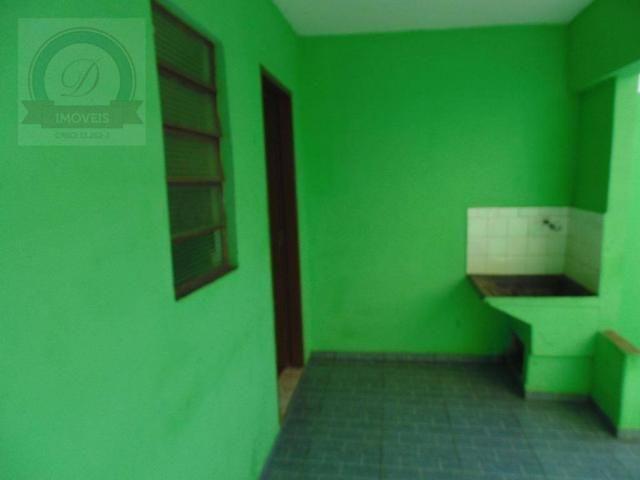 Casa com 1 dormitório para alugar, 50 m² por R$ 430,00/mês - Jardim Santa Izabel - Hortolâ - Foto 7