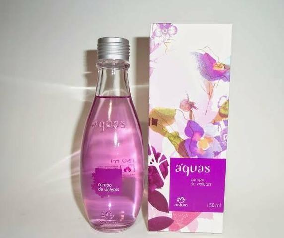 Águas campos de violetas