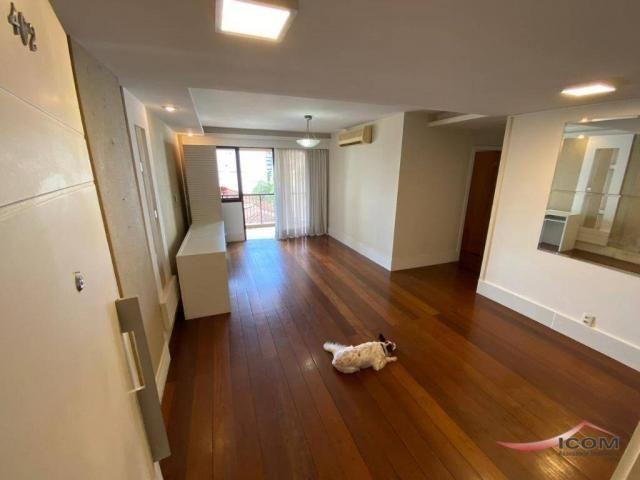 Apartamento com 3 dormitórios para alugar, 116 m² por R$ 2.900,00/mês - Botafogo - Rio de