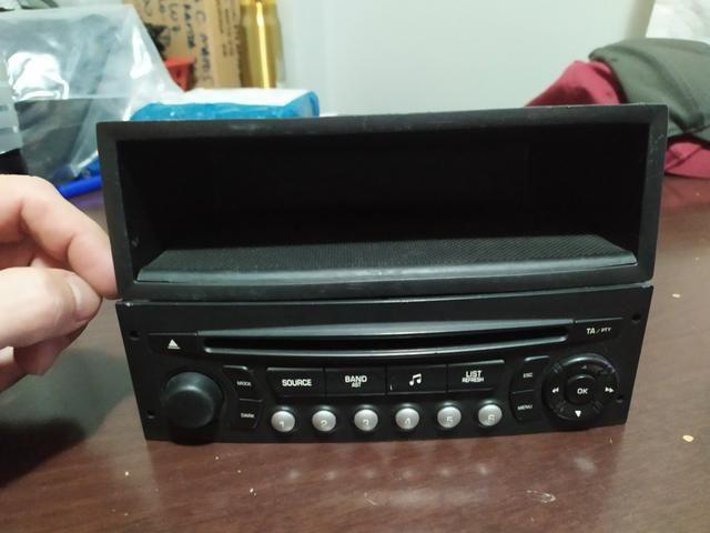 Radio original peugeot 307 + gaveta - Foto 3