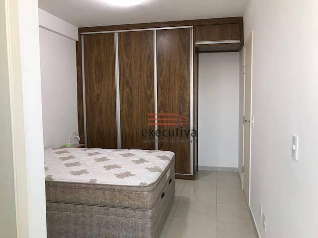 Apartamento com 1 dormitório para alugar, 57 m² por R$ 1.850,00/mês - Jardim das Colinas - - Foto 10