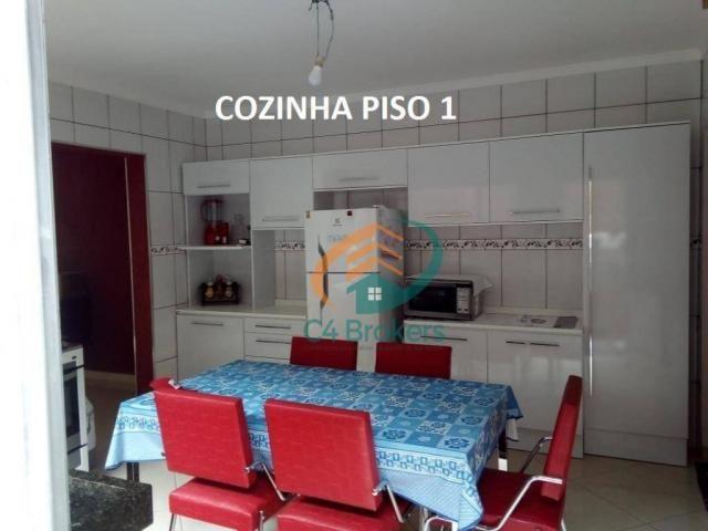 Sobrado com 3 dormitórios à venda, 120 m² por R$ 220.000,00 - Jardim Oliveira II - Guarulh - Foto 3