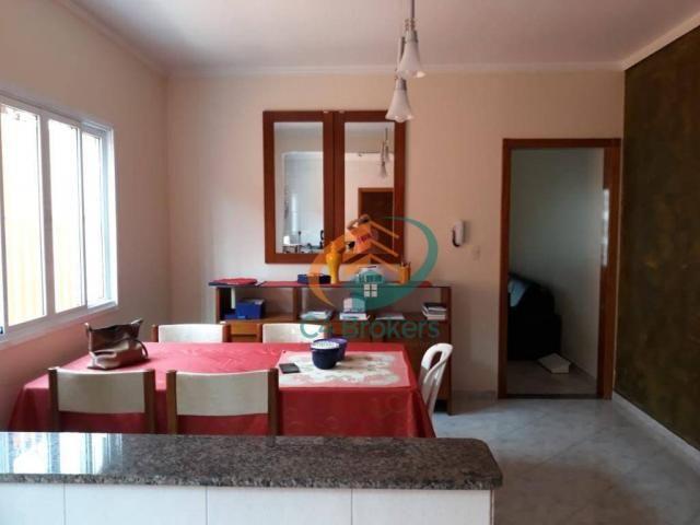 Sobrado com 3 dormitórios à venda, 165 m² por R$ 800.000,00 - Vila São Ricardo - Guarulhos - Foto 3