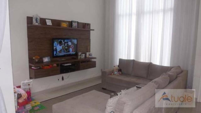 Casa com 3 dormitórios para alugar, 195 m² por R$ 2.605,00/mês - Residencial Real Parque S - Foto 4