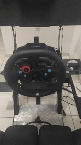 Cockpit X Extreme Racing Estação Completa<br>, Com volante G29 e câmbio manual - Foto 2