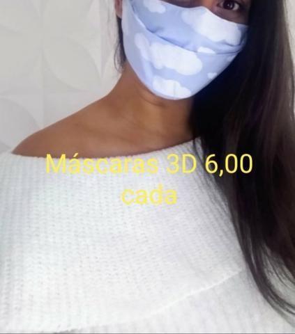 Máscaras tecido de algodão - Foto 4