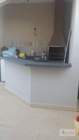 Casa com 3 dormitórios para alugar, 195 m² por R$ 2.605,00/mês - Residencial Real Parque S - Foto 8