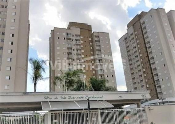 Apartamento à venda com 3 dormitórios em São bernardo, Campinas cod:AP007992