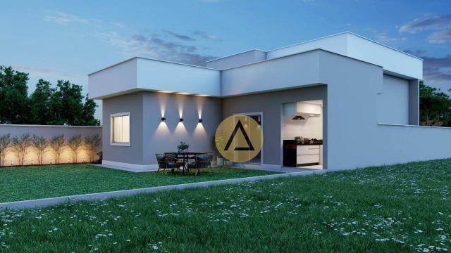 Casa com 3 dormitórios à venda, 110 m² por R$ 500.000 - Bela Vista - Rio das Ostras/RJ - Foto 3