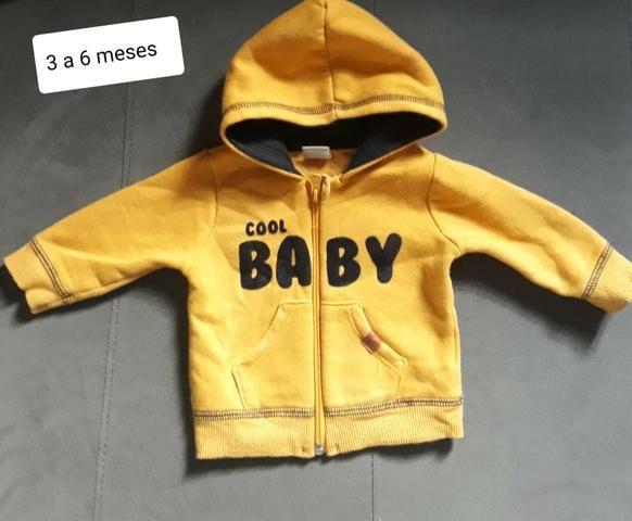 Venda lote roupas de bebê para inverno - Foto 4