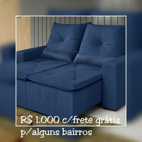 SOFÁ Retratil e reclinável Bahia/ Frete Grátis para maioria dos bairros. - Foto 2