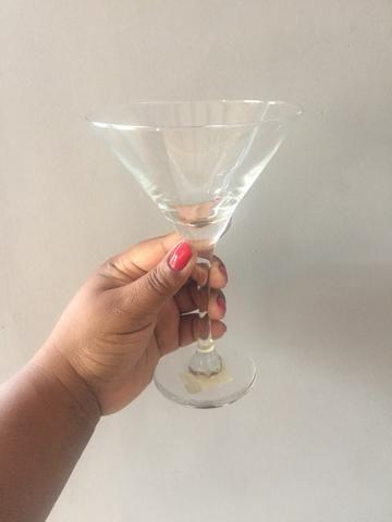 Jogo de 4 taças p/ Martini - Foto 3