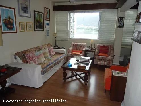Apartamento para Venda em Rio de Janeiro, Lagoa, 3 dormitórios, 2 banheiros, 1 vaga - Foto 4