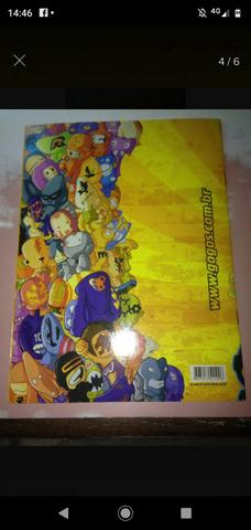 Album GOGO's gogos CRAZY BONES FALTAM SO 2 figurinhas - Foto 3