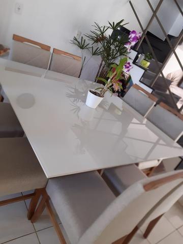 Mesa de jantar Akila oito 8 completa