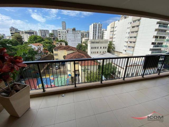 Apartamento com 3 dormitórios para alugar, 116 m² por R$ 2.900,00/mês - Botafogo - Rio de  - Foto 7